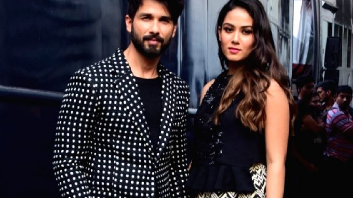 Shahid Kapoor aces 'Gravity Challenge' with wife Mira