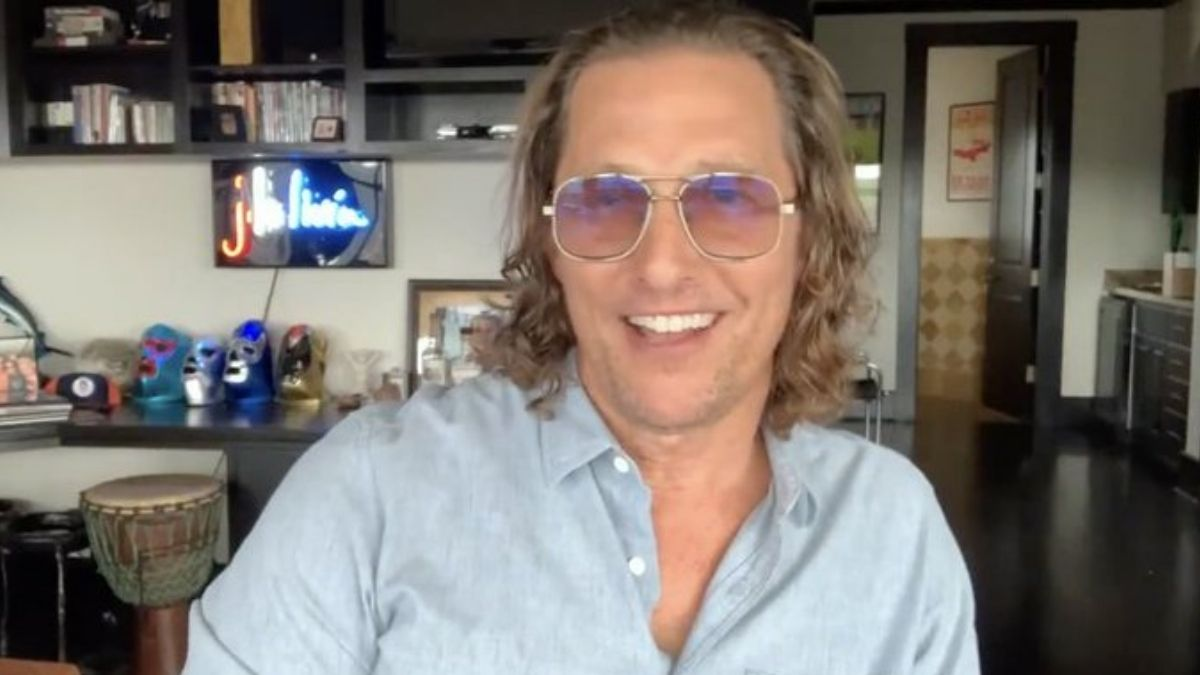 Matthew McConaughey launches YouTube channel