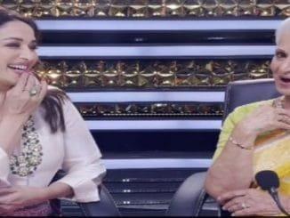 Madhuri Dixit, Waheeda Rehman recreate 60s magic