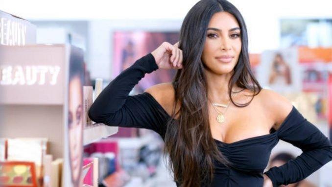 Kim Kardashian reflects on last year in a 'positive way'