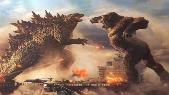 'Godzilla vs. Kong' sets pandemic record