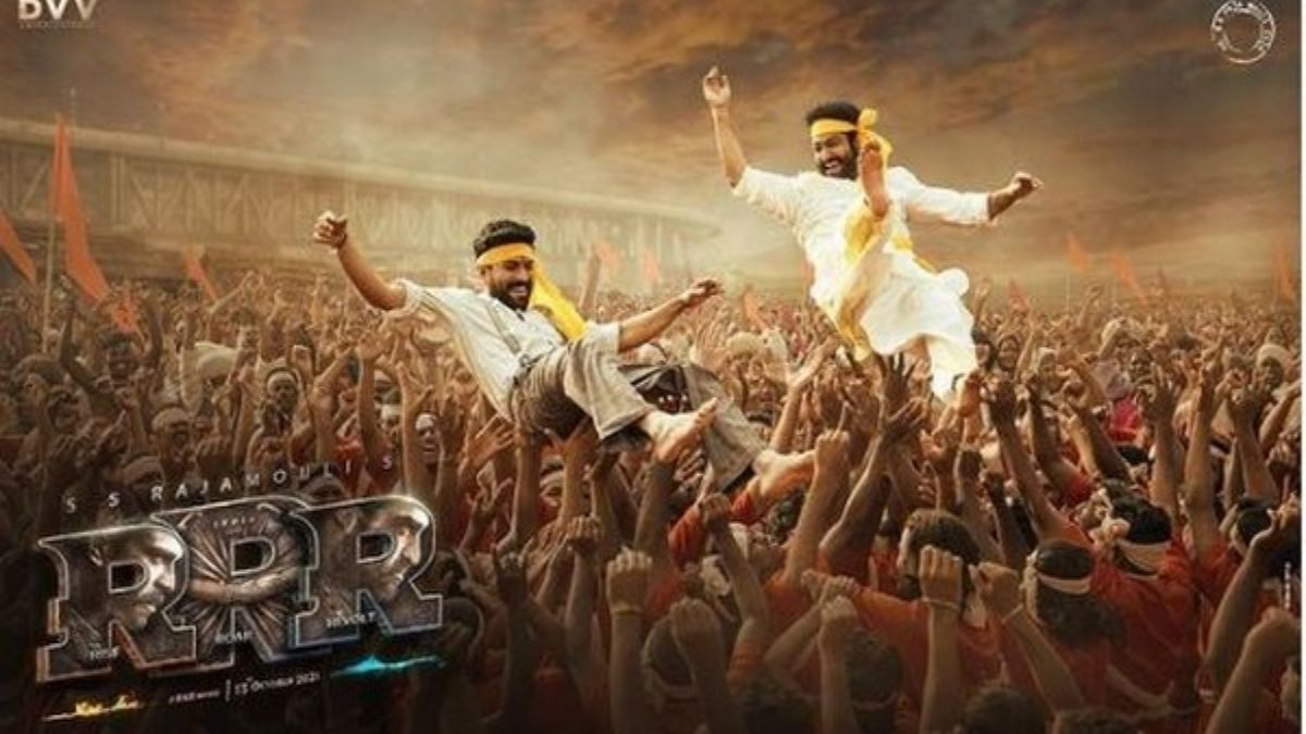 Makers unveil glimpse from 'RRR' to mark Telugu New Year