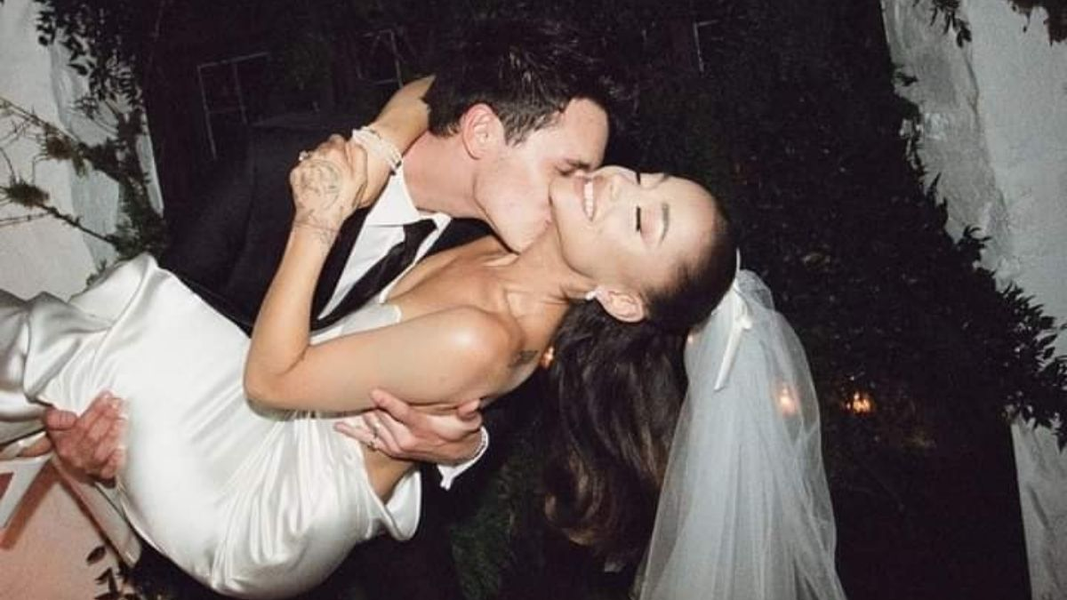 Ariana Grande shared adorable glimpses from her wedding day (1)
