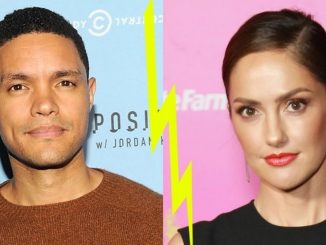 Trevor Noah and Minka Kelly