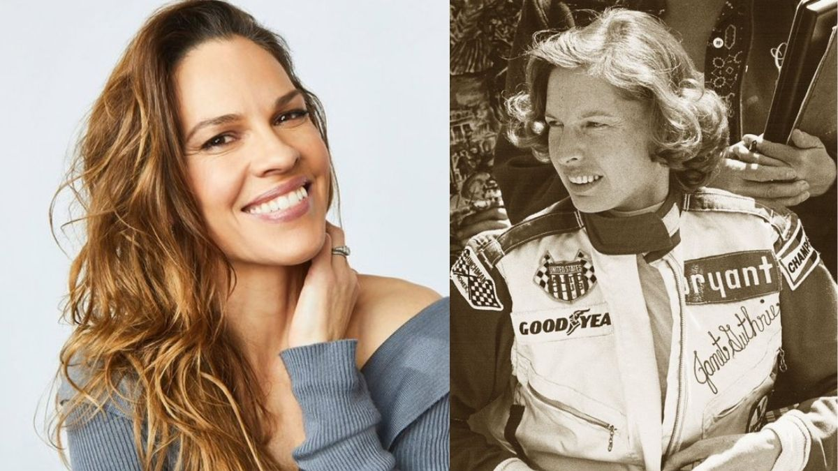 Hilary Swank to play racing pioneer Janet Guthrie in 'Speed Girl' feature adaptation