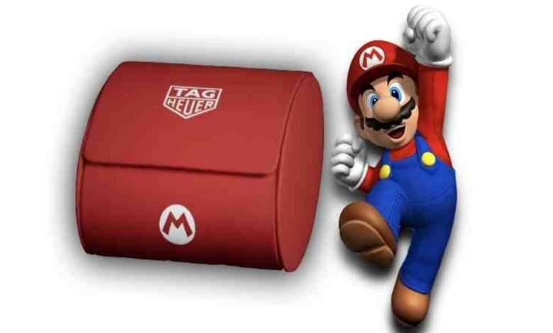 Nintendo to team-up with Tag Heuer for Mario-themed watch